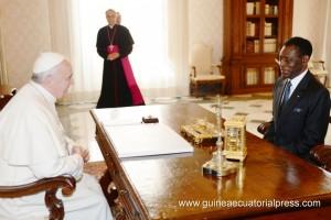 Papa Francesco a Teodoro