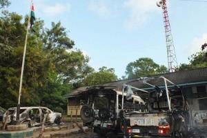 stazione polizia brucita