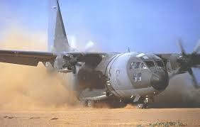 C-27J Spartan nella polvere