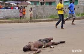 morto in strada