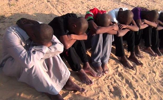 Sinai / Afrikaner / Folter / SPIEGEL TV