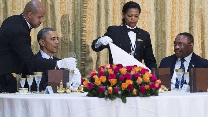 Obama a pranzo con Desalegn