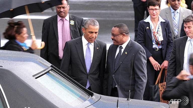 Obama e Desalegn