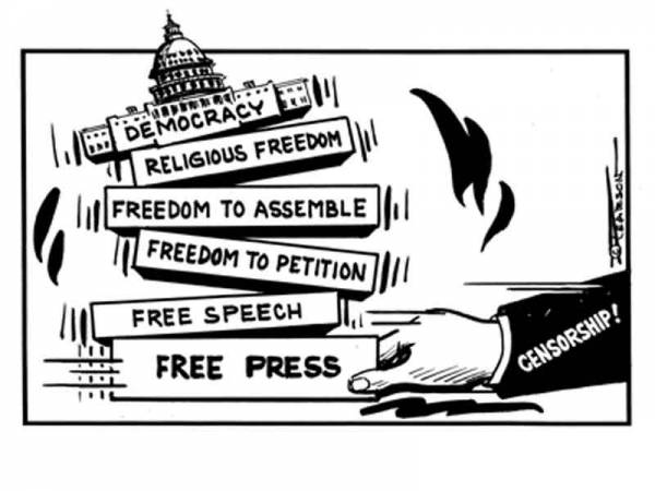 Freedom af the press 600