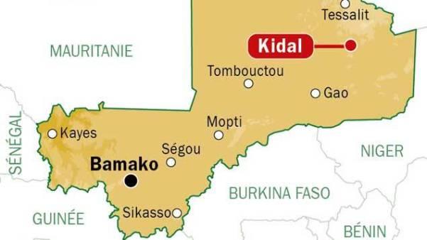 Mappa del Mali