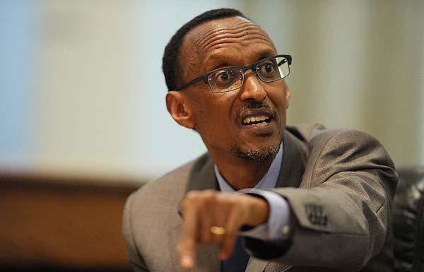 Il presidente del Ruanda Paul Kagame