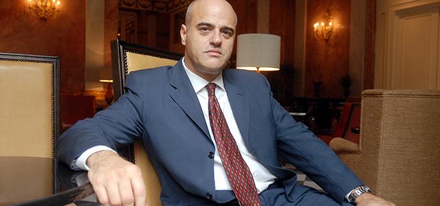 ©Alessandro Paris/lapresse Roma 04-07-2007 economia Assemblea Assomineraria nella foto Claudio Descalzi (presidente Assomineraria)