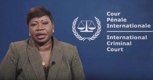 Il procuratore Fatou Bensouda
