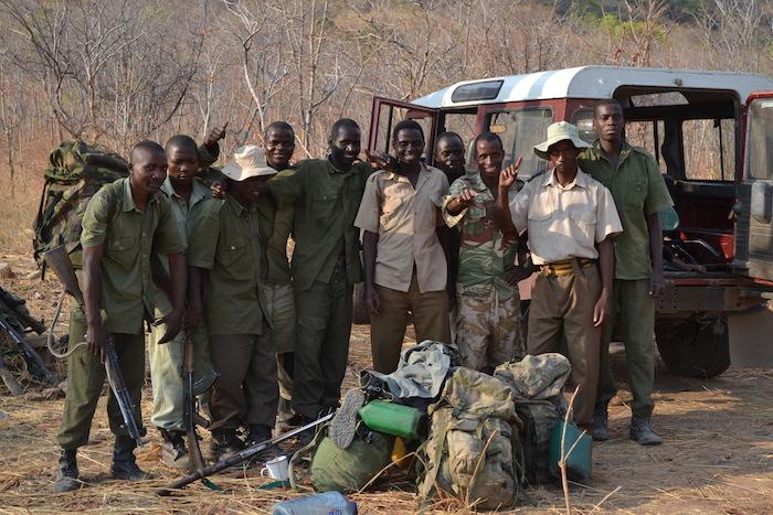 Missione anti-bracconaggio in Zimbabwe.