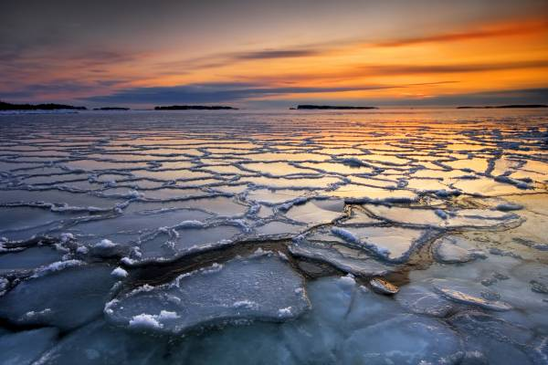 ghiacci sciolti