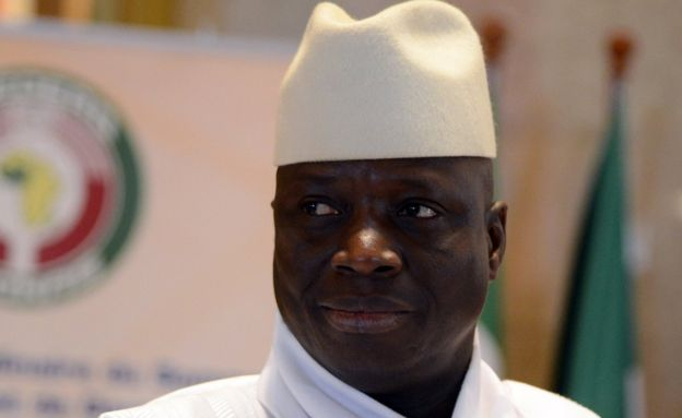 Il presidente Yahya Jammeh