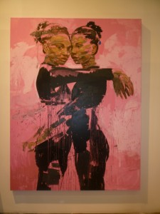 Un dipinto di Lionel Smit