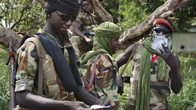 Repubblica centrafricana miliziani armati
