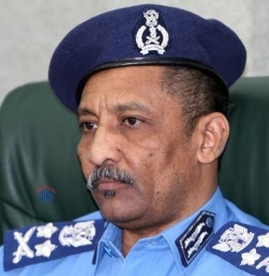 Il generale capo della polizia sudanese Hashim Osman Al Hussein (foto SUNA)