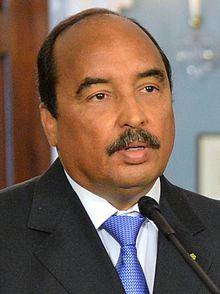 Il presidente della Mauritania, Mohamed Ould Abdel Aziz