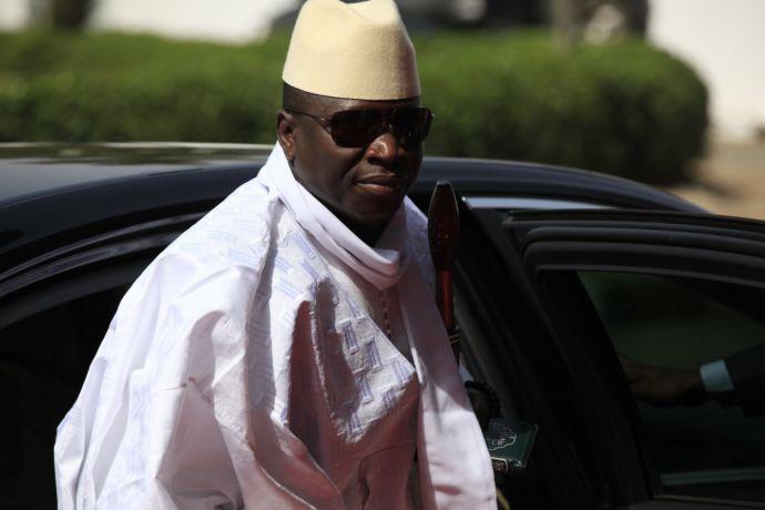 Yahya Jammeh, ex presidente del Gambia