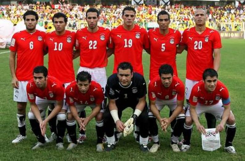 I Faraoni, squadra nazionale dell'Egitto