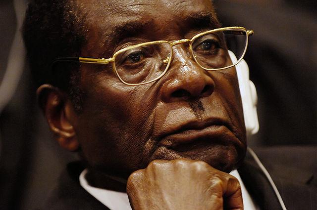 Robert Mugabe, presidente dello Zimbabwe dal 1987