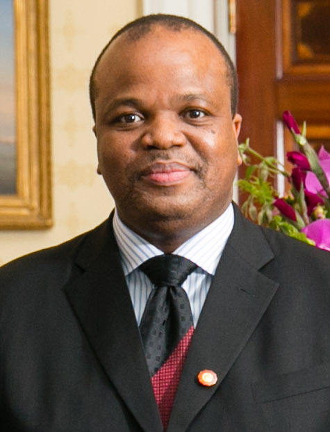 Mswati III, re dello Swaziland
