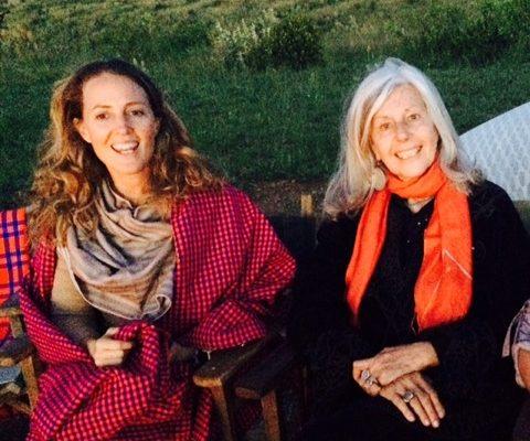 Sveva (a sinistra) e Kuki Gallmann