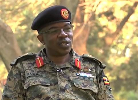 Richard Karemire, portavoce militare dell'Uganda
