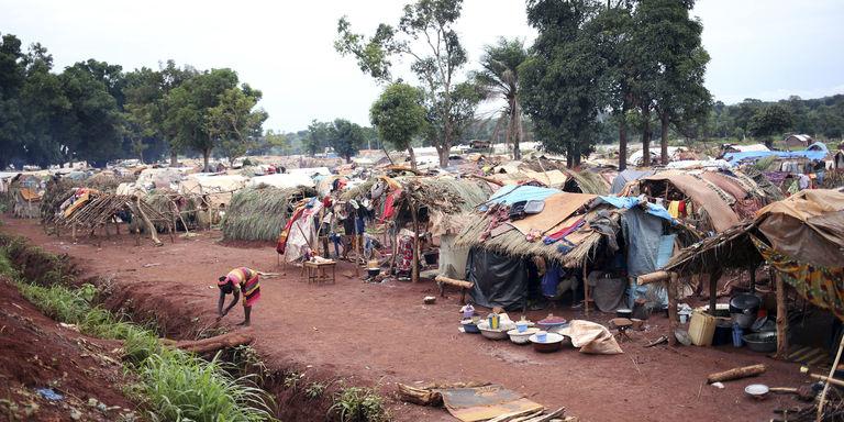 Campo per sfollati, Centrafrica