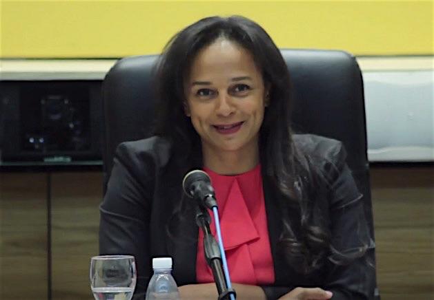 Isabel dos Santos, all'insediamento come presidente della Sonangol, la compagnia petrolifera angolana