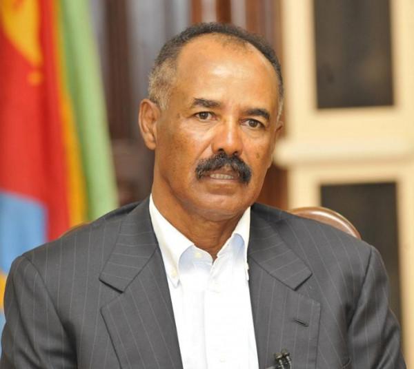Isaias Afewerki, presidente dell'Eritrea