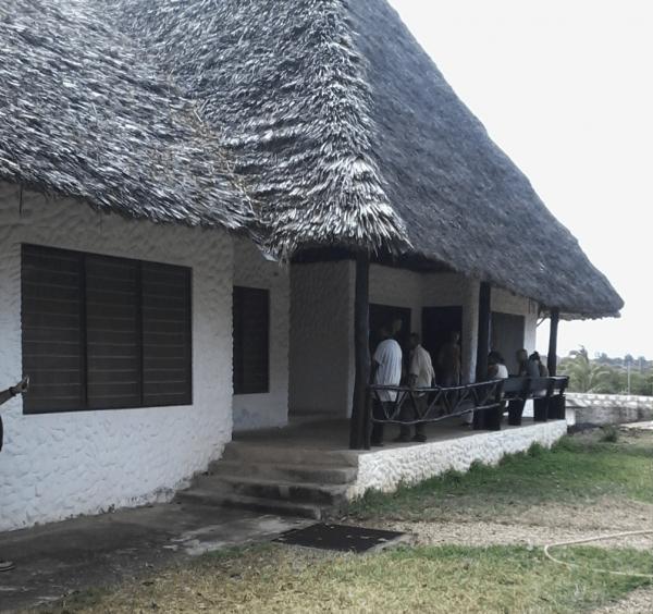Uno scorcio della villetta dove è avvenuta l'aggressione (Copyright Africa ExPress)