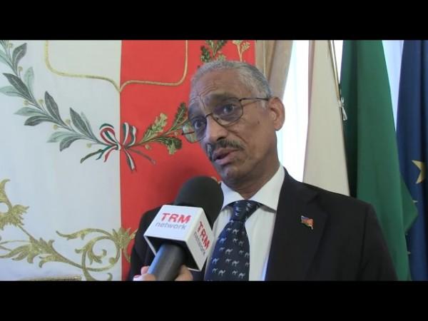 L'ambasciatore in Italia dello Stato di Eritrea, Petros Fessazion