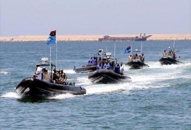 motovedette della Guardia costiera libica
