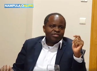 Mahamudo Amurane, durante l'intervista a Nampula Online