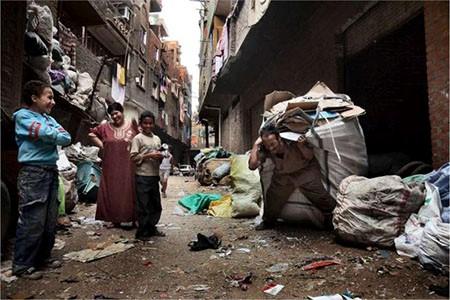 Unio dei poveri quartieri del Cairo