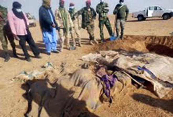 Migranti deceduti nel deserto