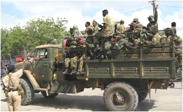 Truppe etiopiche dell'AMISOM, Somalia