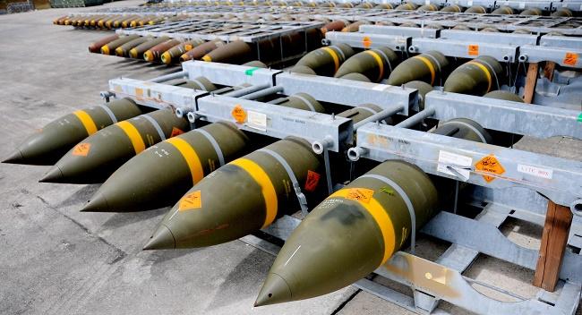 Bombe-MK841 prodotte a Domusnovas, Sardegna, dalla RWM
