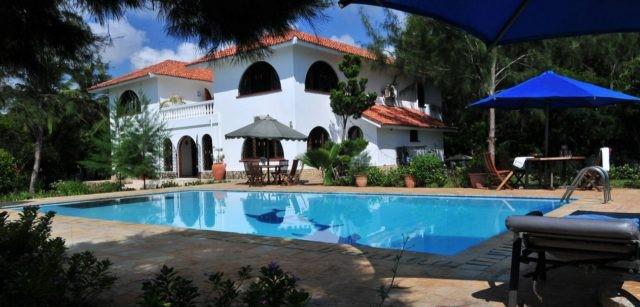 Una villa privata sulla costa del Kenya