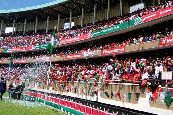 Giuramento di Uhuru Kenyatta, , rieletto presidente del Kenya