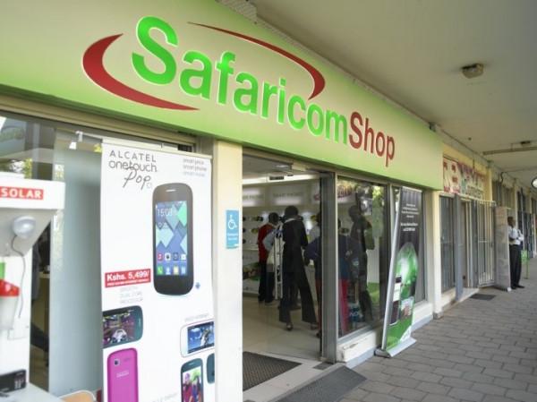 Negozio del gruppo Safaricom in Kenya