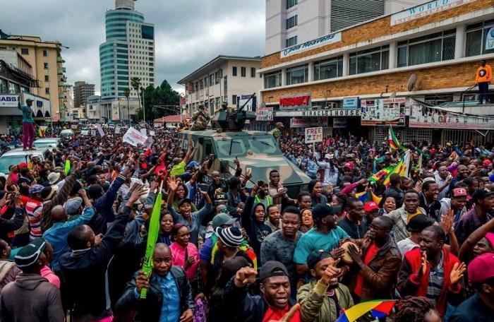 La #SolitarityMarch ad Harare
