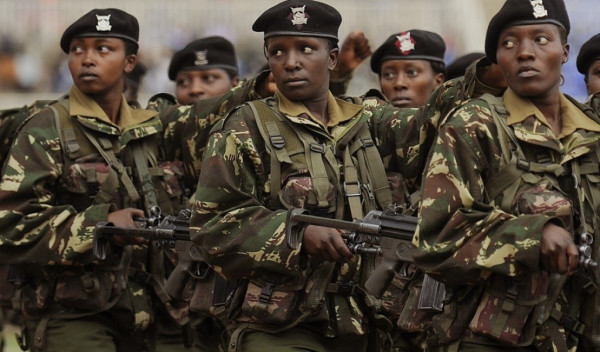 Militari keniani aggregati alla coalizione AMISON in Somalia