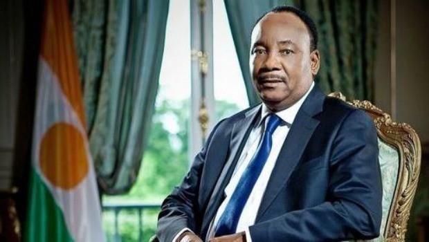 Il presidente del Niger, Mahamadou Issoufou