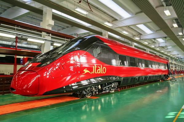 La motrice del Treno Italo acquistato dalla GIP americana