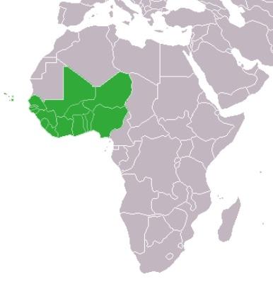 L'area dei Paesi menbri Ecowas