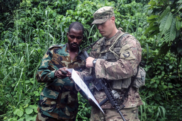 esercitazioni militari congiunte Ghana-US