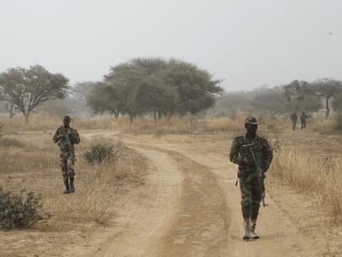 Militari in perlustrazione in Niger