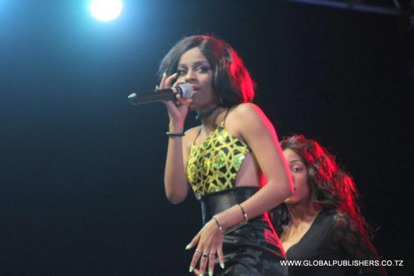 La giovane cantante tanzaniana arrestata, Nandy