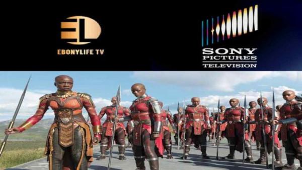 """L'immagine usata per lanciare il serial televisivo """"Le amazzoni di Dahomey"""""""