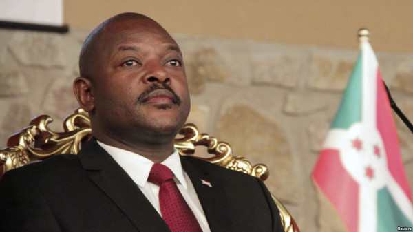 Il presidente del Burundi