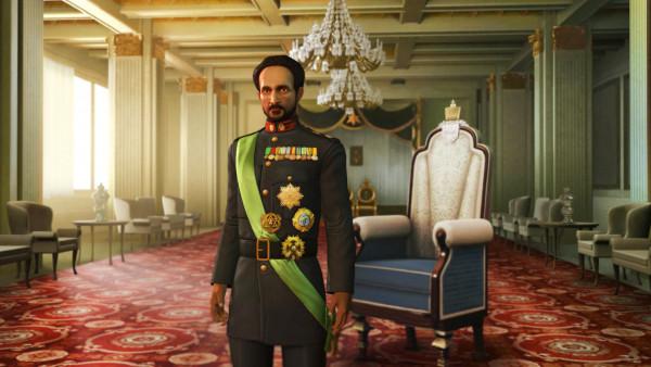 L'Imperatore Etiope Haile Selassie